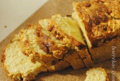 Het sommer die broodjie vir middagete aanmekaar geslaan… heerlik.. heerlik… so spyt ek het nie sommer 2 gebak nie