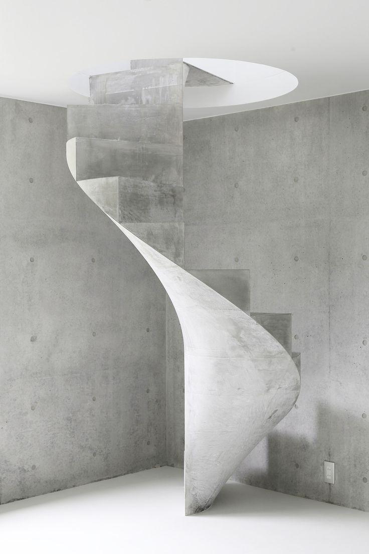 // NUUN | BERLIN // Kazunori Fujimoto #NuunBerlin #InterriorDesign #StairwayToHeaven