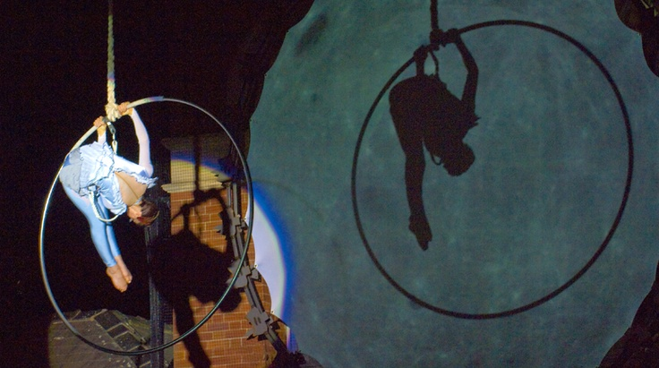 Projections and aerial performance idea, shadows!