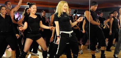 Gimnasio de Madonna llega a Chile