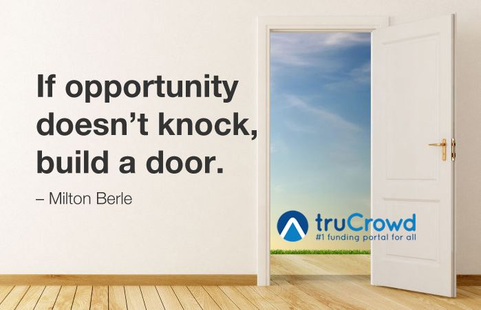 if opportunity doesn t knock then build the door If opportunity doesn't knock, build a door i had never had such a huge opportunity before and by putting myself but then i found myself perched on a.
