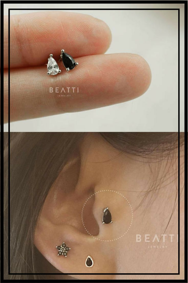 Piercing-piercing nariz circonita anillo oreja tabique piercing Tragus cartilage