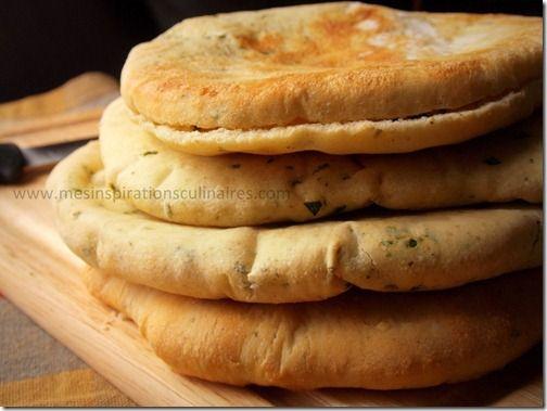 pain pita (pain libanais) / cumin & coriandre   Le Blog cuisine de Samar