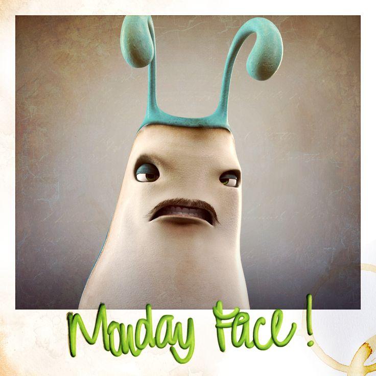Mondays are getting pretty slimey
