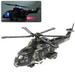 NO.3322 Electric Colorful Flashing Helicopter with Sound of High Quality