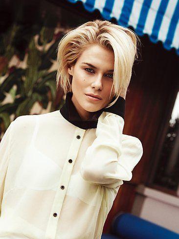 Rachael Taylor's stylish and timeless bob