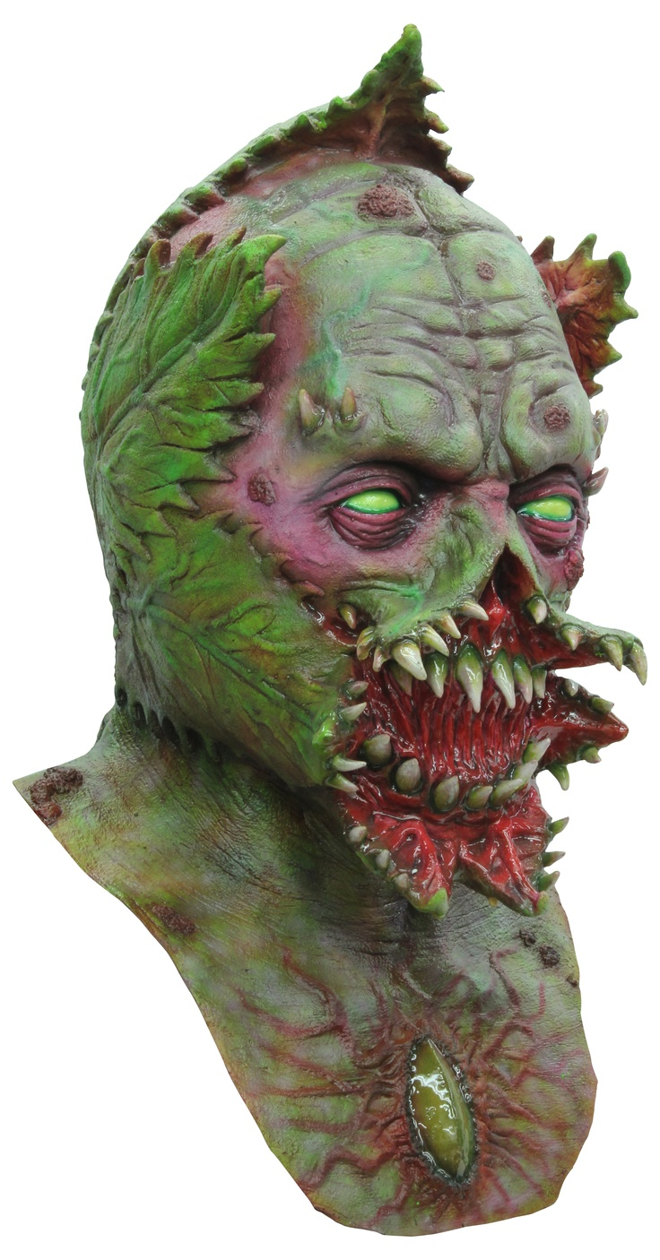 Venus Creature is one of our latest. The detail put into this mask is amazing.