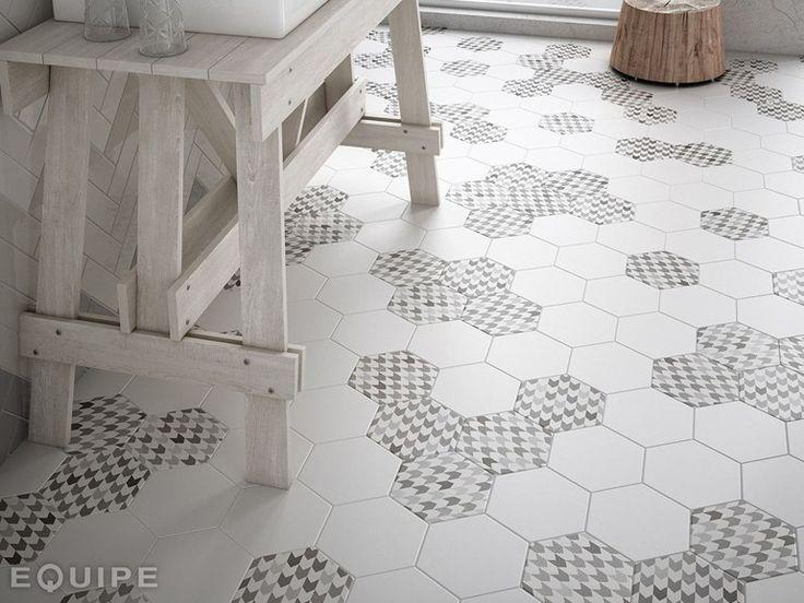 HEXATILE Flooring by EQUIPE CERAMICAS