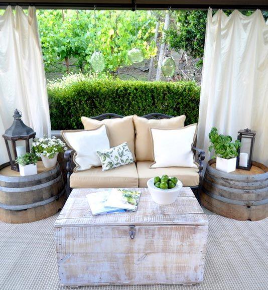Wiosenne patio, czyli poniedziałkowe metamorfozy przed i po. | Lovingit
