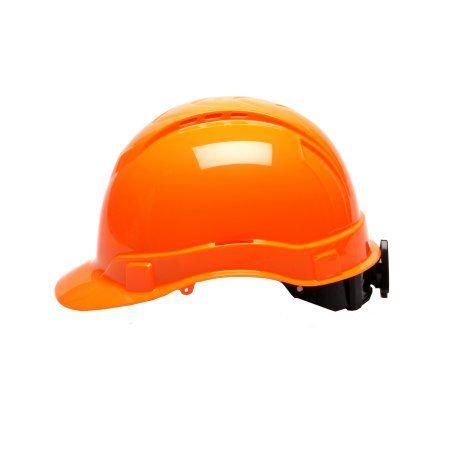 Hi Vis Orange Ridgeline Vented Cap Style 4 Pt Ratchet Suspension Walmart Com Orange Style Vented
