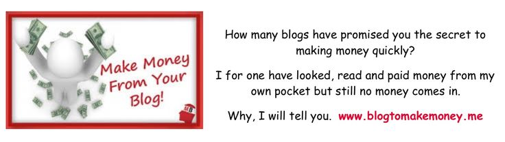 If like me you have read so many get rich quick blogs you need to look at this!