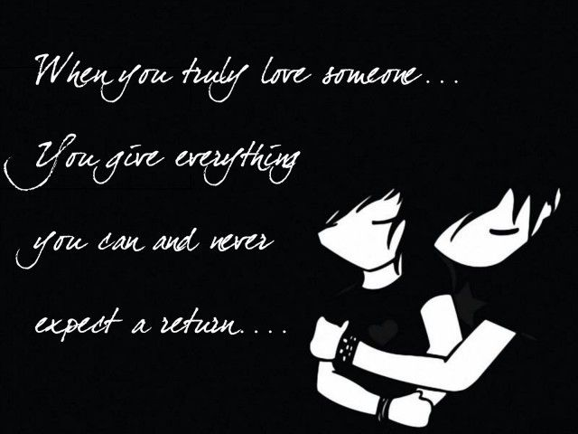 Spectacular Emo Love Quote Photo