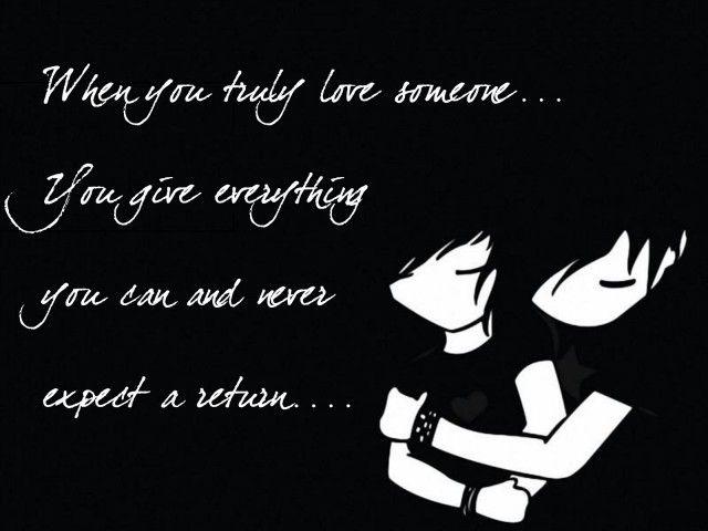 Spectacular Emo Love Quote Photo