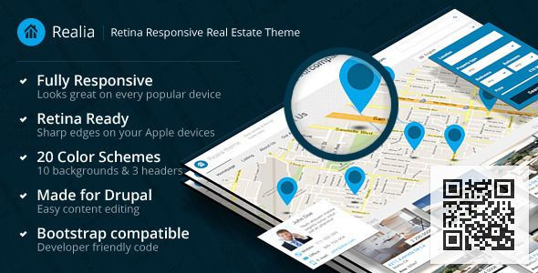 Realia - Retina Responsive Real Estate Theme - ThemeForest Item for Sale