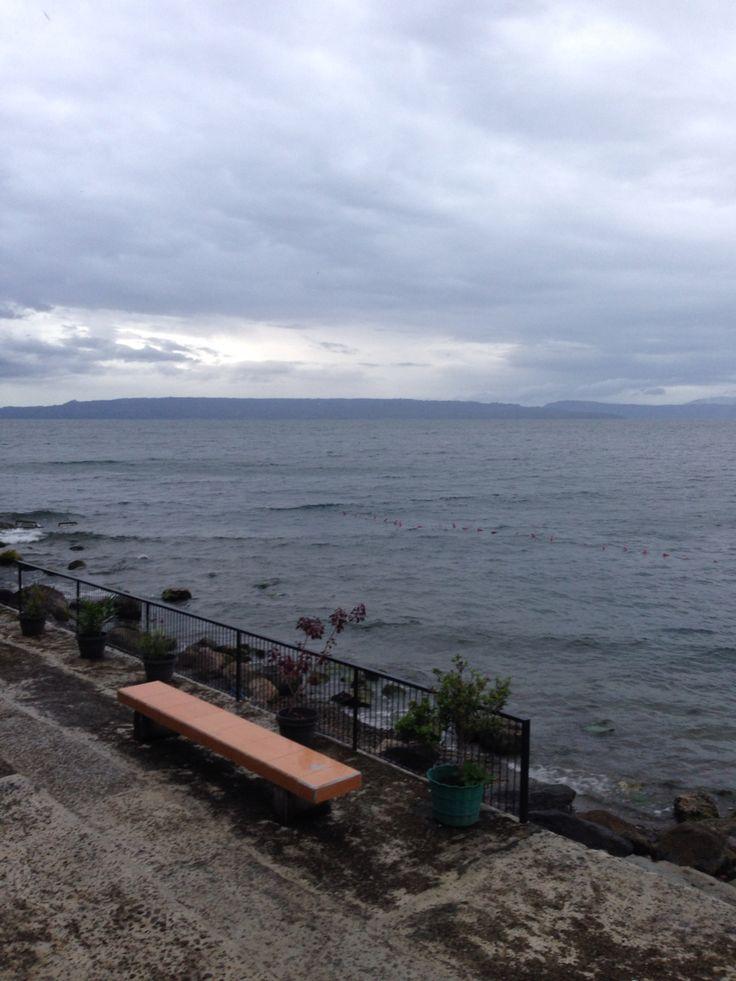 Lake Toba view from Huta Silalahi