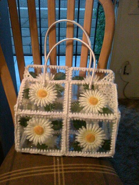 1000+ ideas sobre Bolsa De Crochet De Plástico en Pinterest ...
