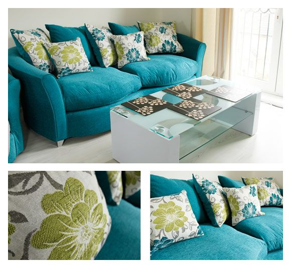 I may NEED a teal sofa...  I mean....  come. on.