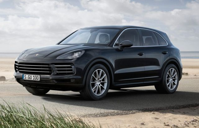 The Sports Cars Of Suvs The Cayenne Turbo S Sits At The Top Of