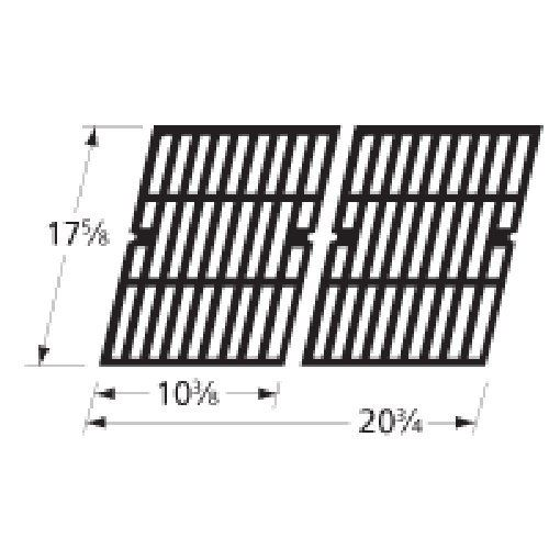 Music City Metals 69762 Gloss Cast Iron Cooking Grid Replacement for Gas Grill Model Brinkmann 810-9200-0, Set of 2 by Music City Metals. $49.53. Fits Brinkmann 810-9200-0. 17.625 by 20-3/4-Inch gloss cast iron cooking grid. Gloss cast iron cooking grid for Gas Grill Models Brinkmann 810-9200-0