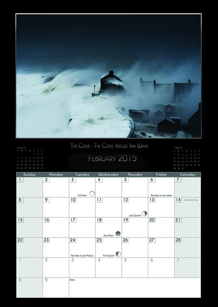 2015 Weymouth & Portland Calendar