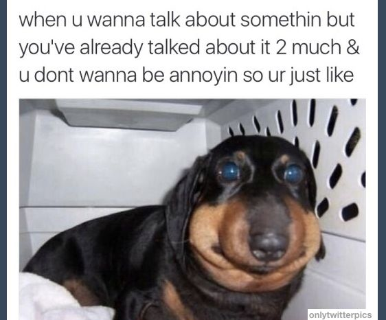 You when you try to get personal: | 21 Pictures That'll Make Awkward People Laugh Harder Than They Should