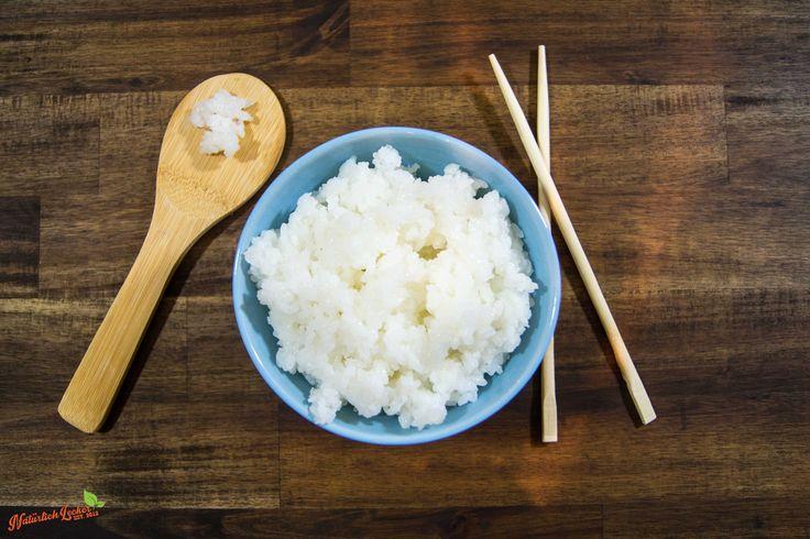 Sushi Reis richtig kochen