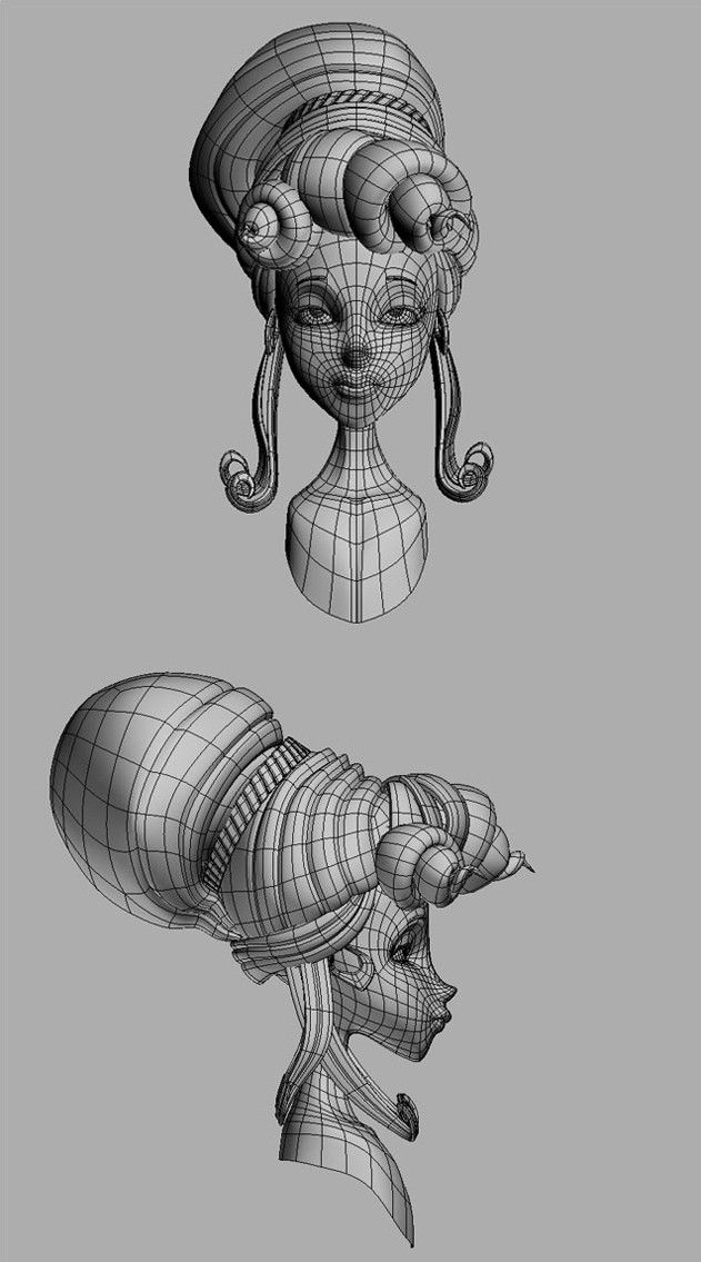 147 best 3D/ Wireframe/ Characters images on Pinterest