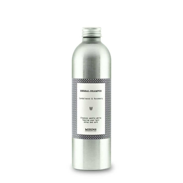 Shampoo Sandalwood Herbal Shampoo - Sandalwood & Rosemary  Cleanses gently while leaving your hair shiny and soft  This organic shampoo base is is parabens-free and sulfate-free.