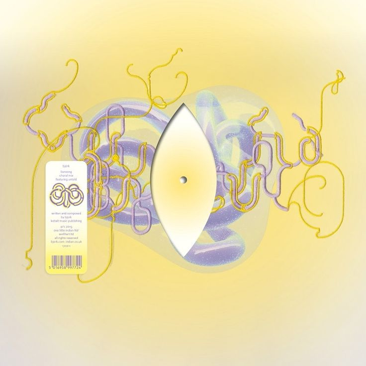 """Bjork - Lionsong: Choral Mix Featuring Untold on Limited Edition Colored 12"""" Vinyl   Download"""