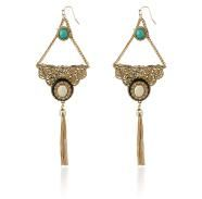 SAMANTHA WILLS - JEWELS Turquoise Gold Statement Bohemian Luxe