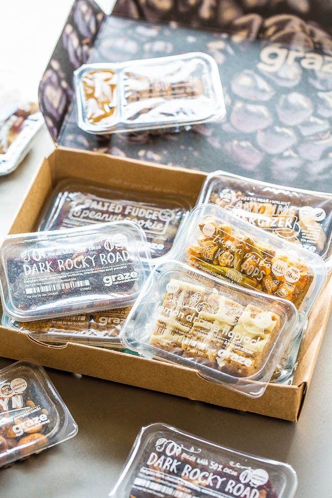 Graze Snacks Giveaway - Use promo code ACOOKS when you sign up for a subscription and you'll receive a free 4-snack sampler box when signing up to Graze! @grazeusa #ad #WaysToGraze