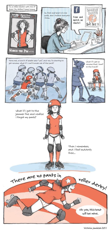 Roller skates one line - Victoria Jamieson Is A Illustrator Of Children S Books And A Derby Girl Go Winnie Roller Derbyroller Skatingdrillschildren