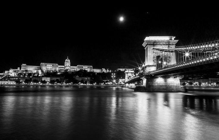Bridge lights by Resit Saricicek #Budapest #travel #Europe
