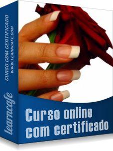 Novo curso online! Unhas de Acrílico - http://www.learncafe.com/blog/?p=607