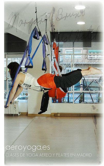 Aerial Yoga, aerial yoga www.aerialyoga.tv YOGA AERIEN DANS L'AIR ESPAGNE by yogacreativo, via Flickr