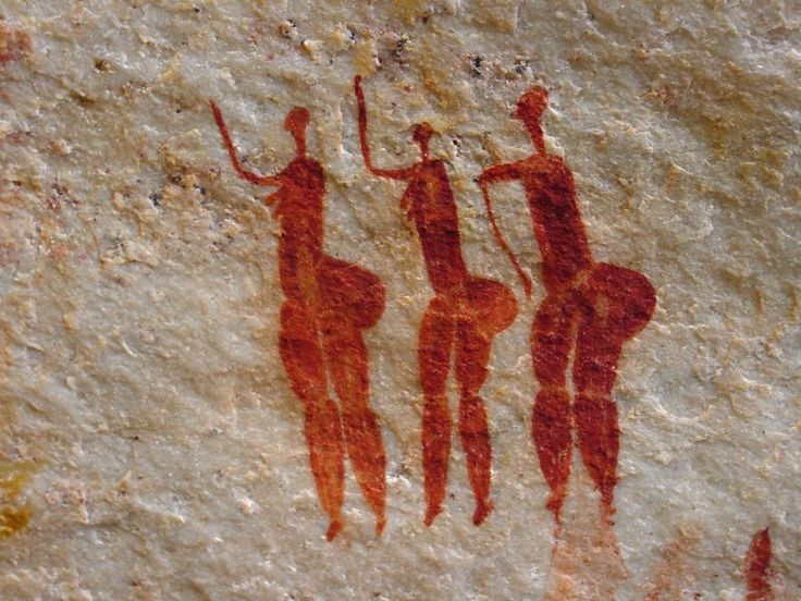 South African San (Bushman) rock paintings in the Cederberg or nearby Nardouwsberg, Koue Bokkeveld and Olifants River Valley are some of the most accessible in the world.