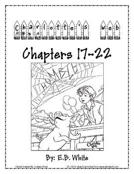 "from Lindsay Flood ""Mrs. Flood's Friends"" on TPT  Check out Charlotte's Web Mini Unit Packet 3 of 3 (and this one is FREE!!). This mini unit packet will take 5 days to complete, after reading 1..."