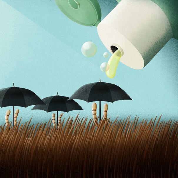 "© Sara Gironi Carnevale - ""Revenge of the Super Lice"", illustration for Scientific American."