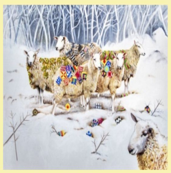 For Everything Genealogy - Sheep With Patchwork Animal Themed Maxi Wooden Jigsaw Puzzle 250 Pieces, $65.00 (http://www.foreverythinggenealogy.com.au/sheep-with-patchwork-animal-themed-maxi-wooden-jigsaw-puzzle-250-pieces/)
