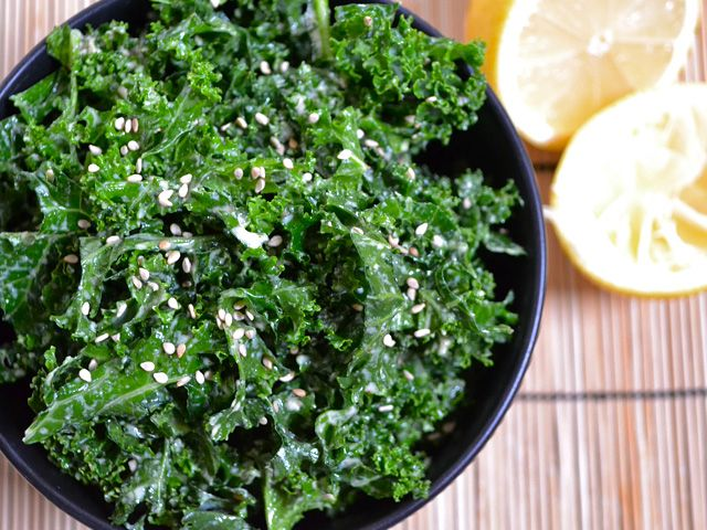 Tahini Kale SaladOlive Oil, Health Food, Tahini Dresses, Tahini Kale, Kale Salads, Kale Salad Recipe, Budget Bytes, Cayenne Peppers, Lemon