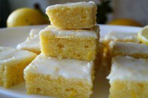 Лимонные брауни