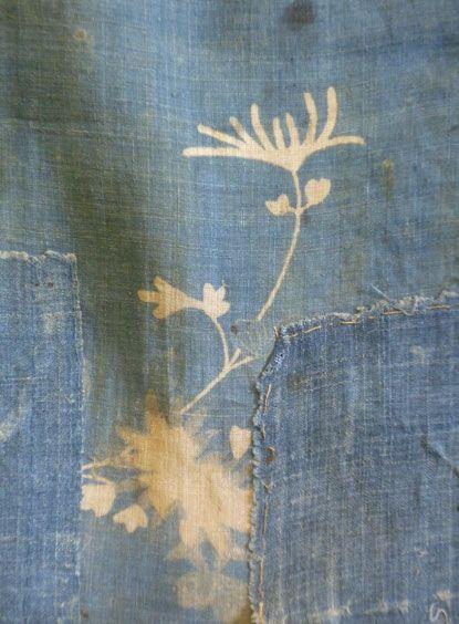 A Magnificently Beautiful 18th Century Ramie Boro: Formal kimono