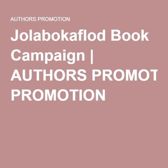 Jolabokaflod Book Campaign   AUTHORS PROMOTION