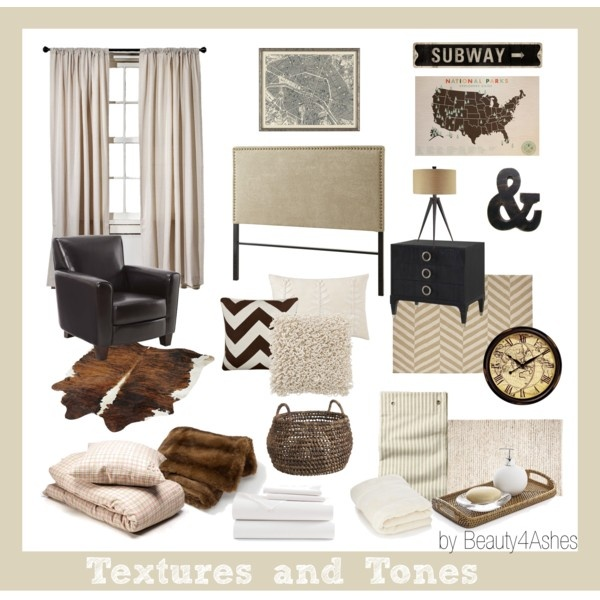 Quot Textures And Tones Quot Bedroom Mood Board In Neutrals