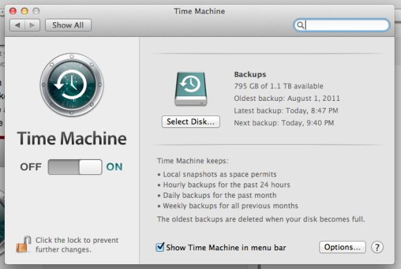 How to set up Time Machine in Mountain Lion | Macworld