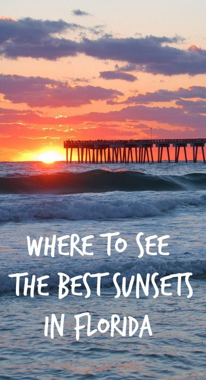 Where to see the best sunsets in Florida