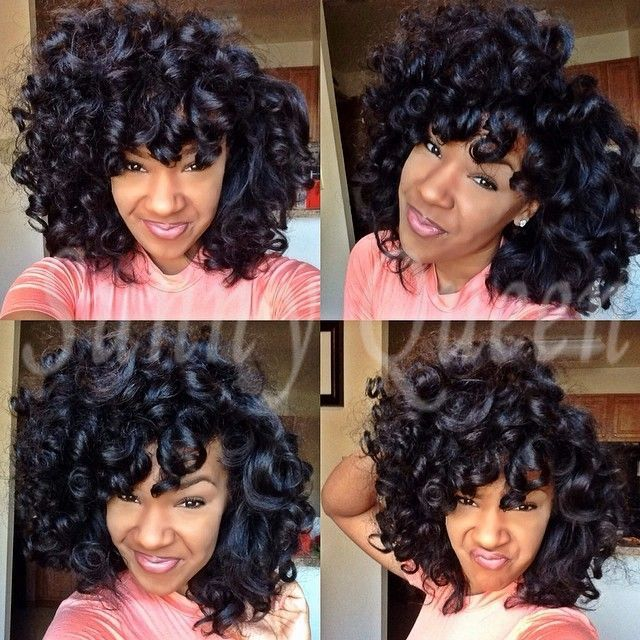 Natural Curly Black Hair Styles