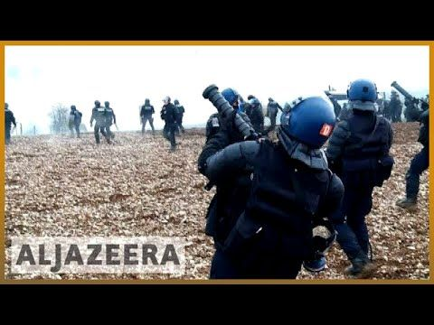 Al Jazeera English ?? France: Police battle protesters over nuclear waste storage plans | Al Jazeera English