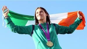 Irish Women : Katie Taylor (born 2 June 1986) is an Irish athlete who specialises in boxing. Boxing and training with the Irish Amateur Boxing Association, she is the current Irish, European, World and Olympic Champion in the 60 kg division. Hugely popular in Ireland, she is credited with raising the profile of women's boxing at home and abroad. Regarded as the outstanding Irish athlete of her generation, she wore the flag for Ireland at the 2012 Summer Olympics opening ceremony.
