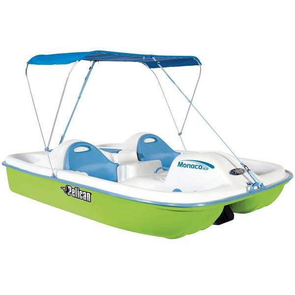 Boat Finder, Accecoris and Parts: Pedal Boat Pelican Monaco Deluxe
